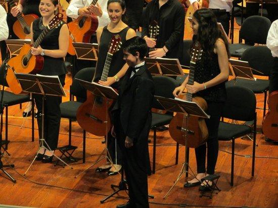 Madeira Mandolin Orchestra : Der Dirigent Oscar Ramos