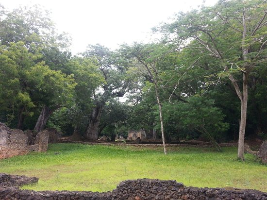 Gede Ruins: Part of the ruins
