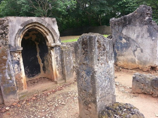 Gede Ruins: Inside the mosque