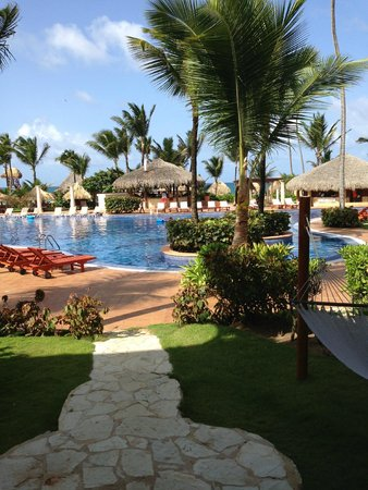Excellence Punta Cana: Another view from room-