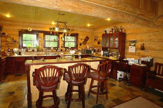 The Garrison Inn : the kitchen