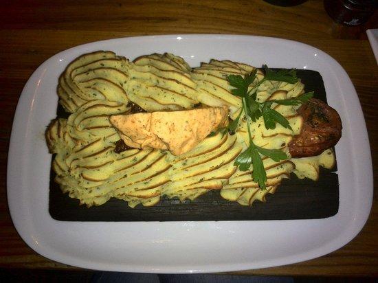 Puk: Filetto di carne danese con puré