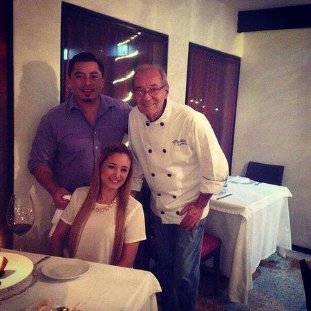 DU MEXIQUE By Sonya Grimond: Una foto con el chef una excelente persona