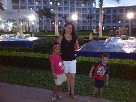 Hotel Riu Palace Costa Rica: My Family