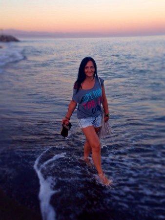 Playa El Bajondillo: Plaża