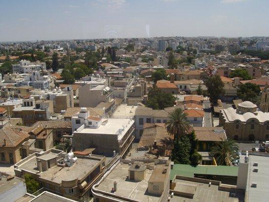 Shacolas Tower Museum & Observatory: Nicosia dall'alto