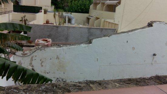 Hotel Subur : vue du balcon