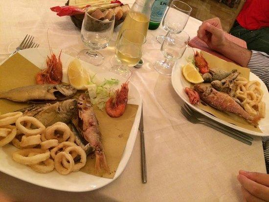 Re Ferdinando: Frittura di pesce