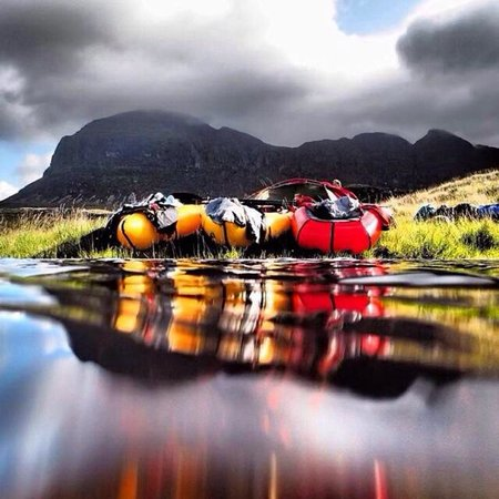 Backcountrybiking: Pulled up for the night under Suilven