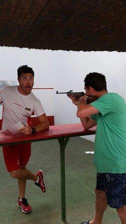 HSM Canarios Park : Shooting