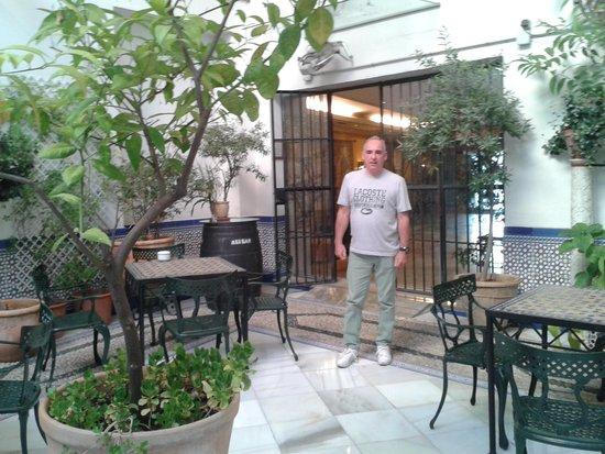 Hotel Eurostars Maimonides: il patio