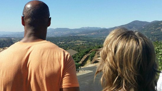 A Limo Excursion & Wine Tours: Beautiful Napa Valley view