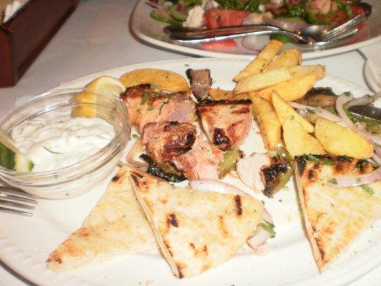 Odyssey Restaurant : suvlaki