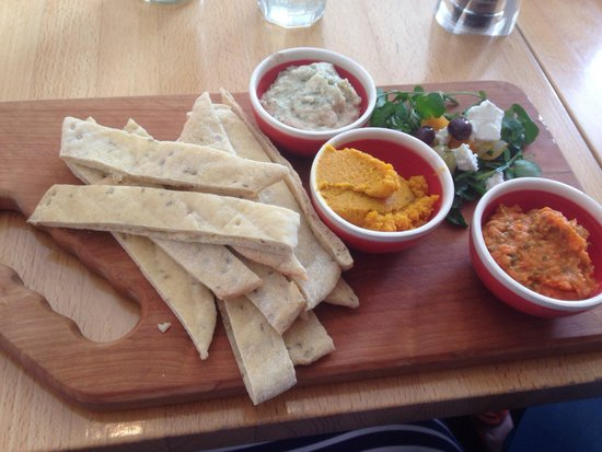 Thyme and Tides Deli: Dips - £6.95