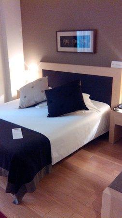 Hotel Villa Emilia: lit