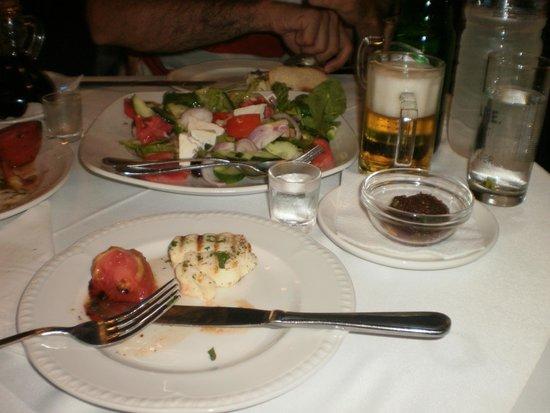 Odyssey Restaurant : halumi cheese