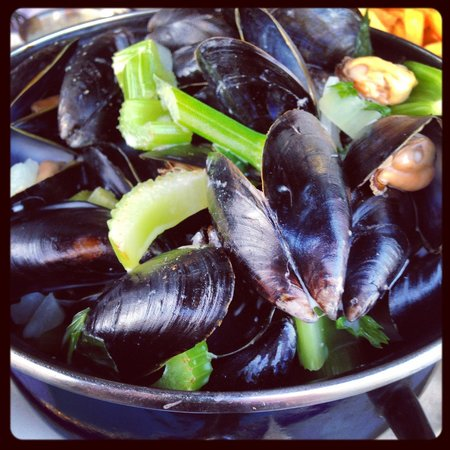 pro Deo: Mussels with cream and garlic