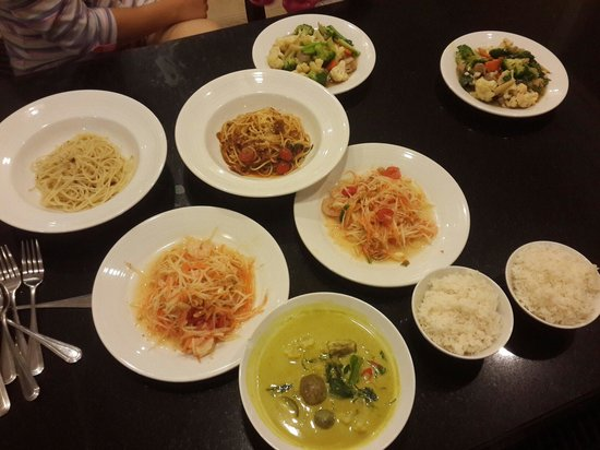 Grande Centre Point Hotel Ratchadamri: Room service. 1600 baht.