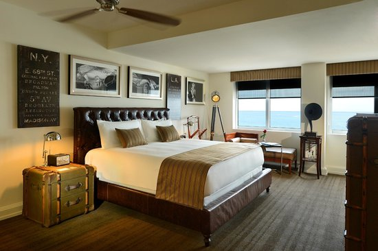 National Hotel Miami Beach : Penthouse Suite Guestroom