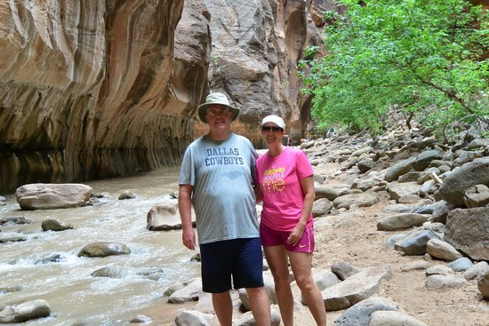 Hike the Narrows at Zion