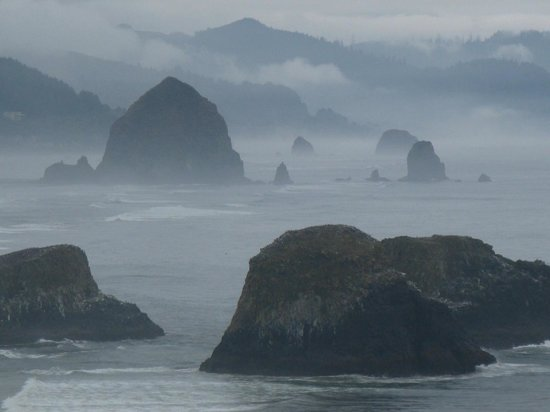 Ecola State Park: View south