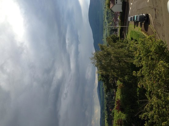 Hotel la Diligence : View from La Villa Bel-Air