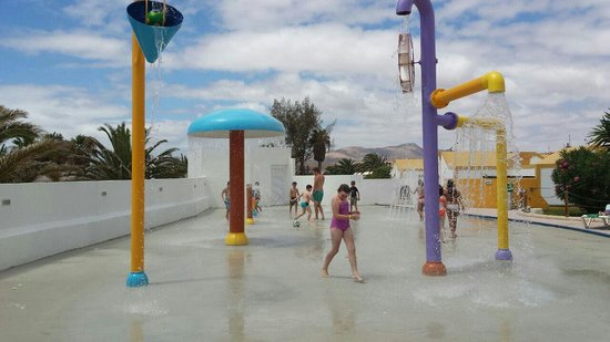 Club Caleta Dorada : Splash zone brill kids loved it