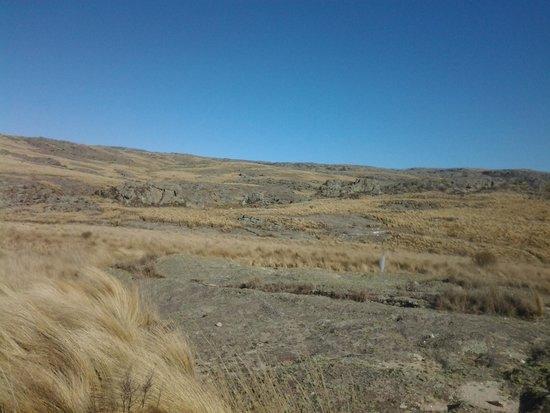 Quebrada del Rio Condorito (Condorito River's Gorge) : paisaje en la quebrada