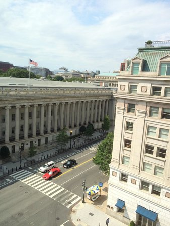 W Washington D.C.: View from floor 9