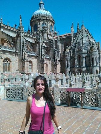 Salamanca's Plaza Mayor : Subiendo al cielo de la Catedral