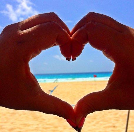 Sandos Cancun Luxury Resort: I heart Sandos