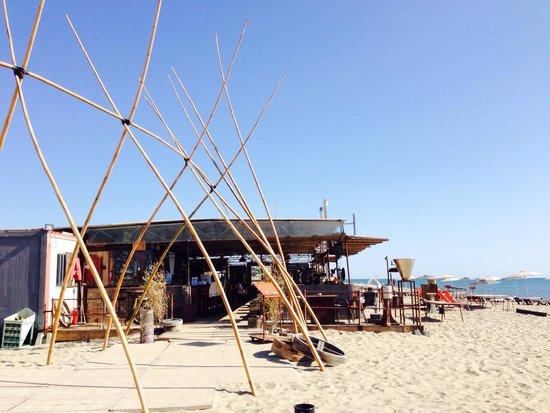 Arrivée chez Biquet plage