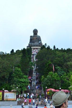 Grand Bouddha : Some stairs to climb
