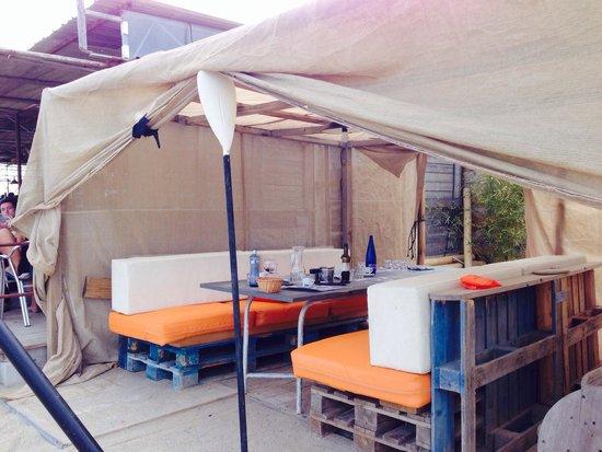 Chez Biquet: Tente