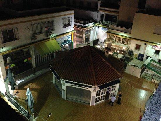 N.CH Hotel: genial vista de la plaza