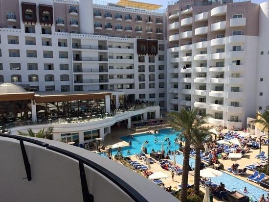 db San Antonio Hotel + Spa: Vistas desde mi habitacion...
