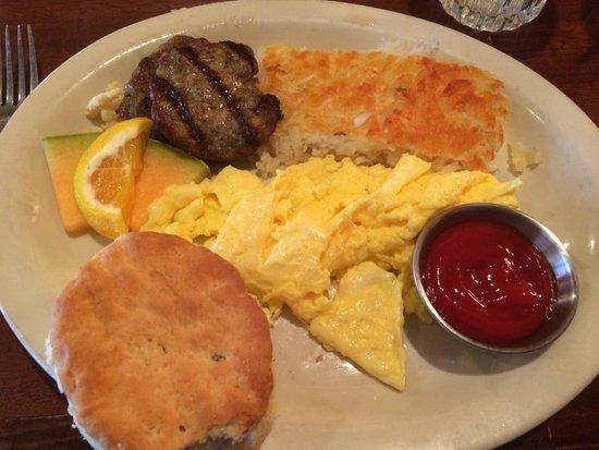 The Salt Creek Steakhouse : breakfast