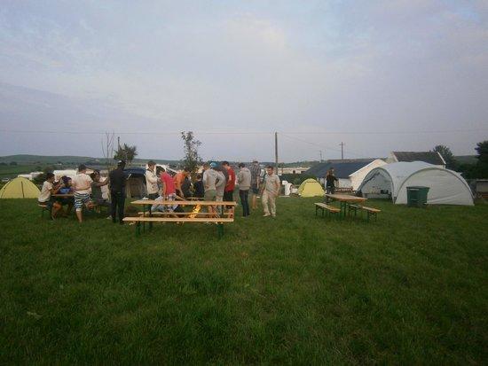 Sextons Caravan and Camping Park: emplacement de camping
