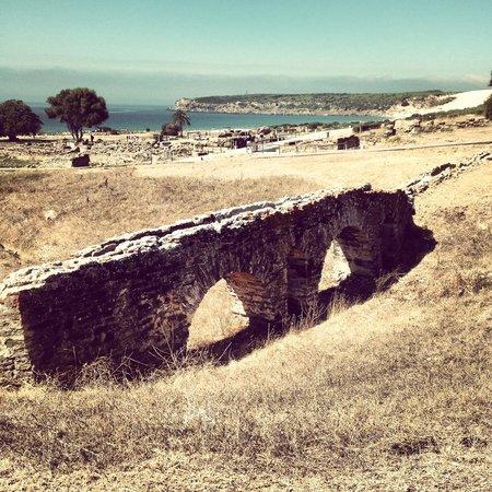 Conjunto Arqueológico Baelo Claudia: Puente de la paloma