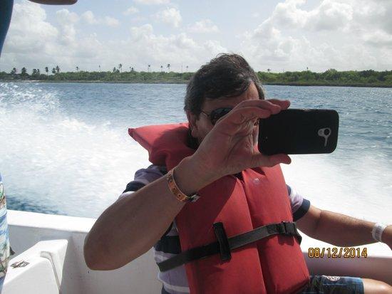 Excursion a la Isla Saona: En lancha rápida rumbo a Isla Saona