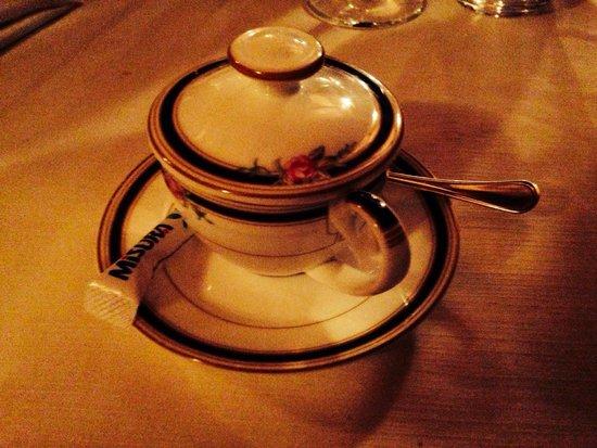Locanda Del Feudo: Tazzina deliziosa. Niente lasciato al caso.
