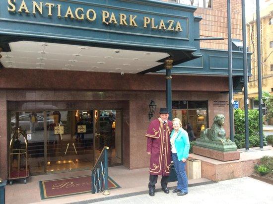 Park Plaza: Fachada do Hotel