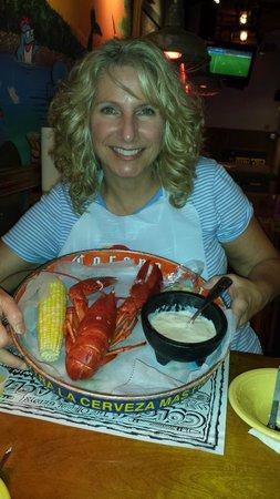 Geddys : Lobster and lobster chowder - yummy!