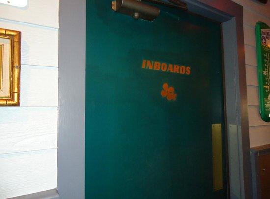 Geddys : I'm an inboard - ha!