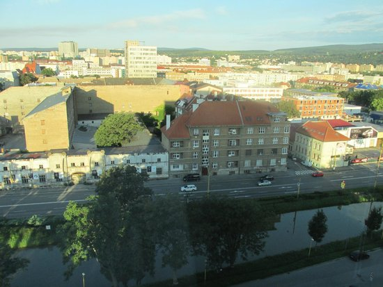 Hotel Yasmin Kosice: View from 10th floor 2