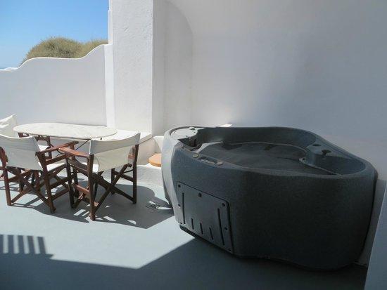 Esperas : Private hot tub