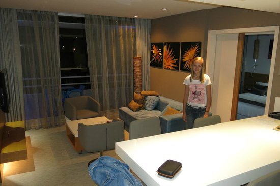 Chateau Royal Beach Resort and Spa : Main suite in room