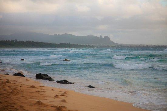 Kauai Beach Villas - Beachfront - 100 yards from room F11