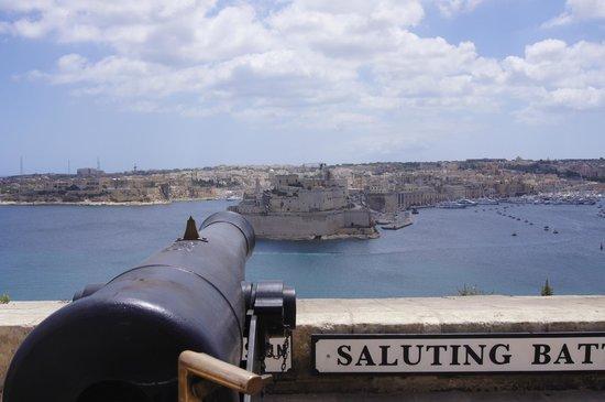 Saluting Battery : beautiful view