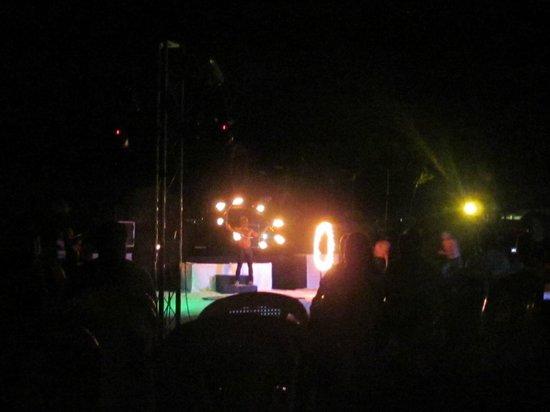 Secrets Royal Beach Punta Cana: Fire show at beach party